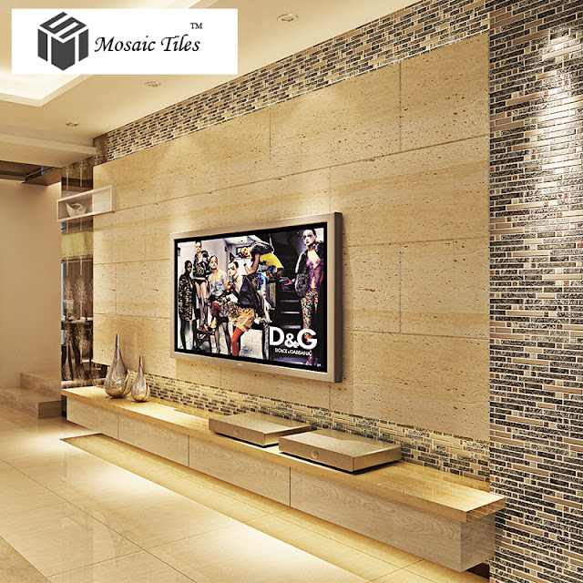 This Kind Of Glass Stone Tiles Is Highly Recommended For Living Room  Background Wall. If You Want A Luxury Style Living Room, That Must The Best  Choice.